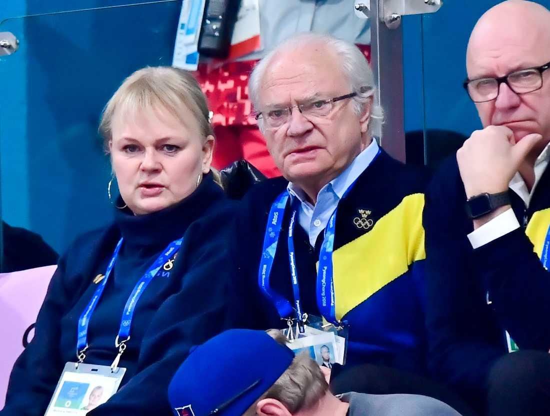 Kungen på curling. Förlust.