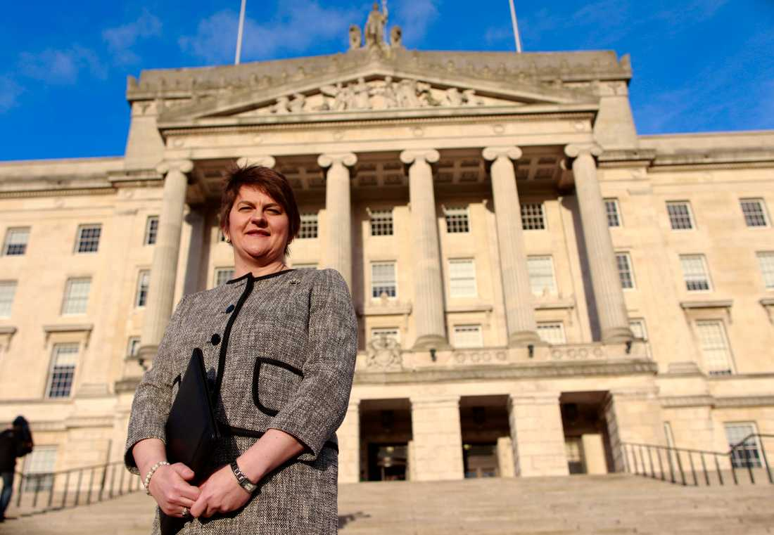 Arlene Foster, ledare för DUP.