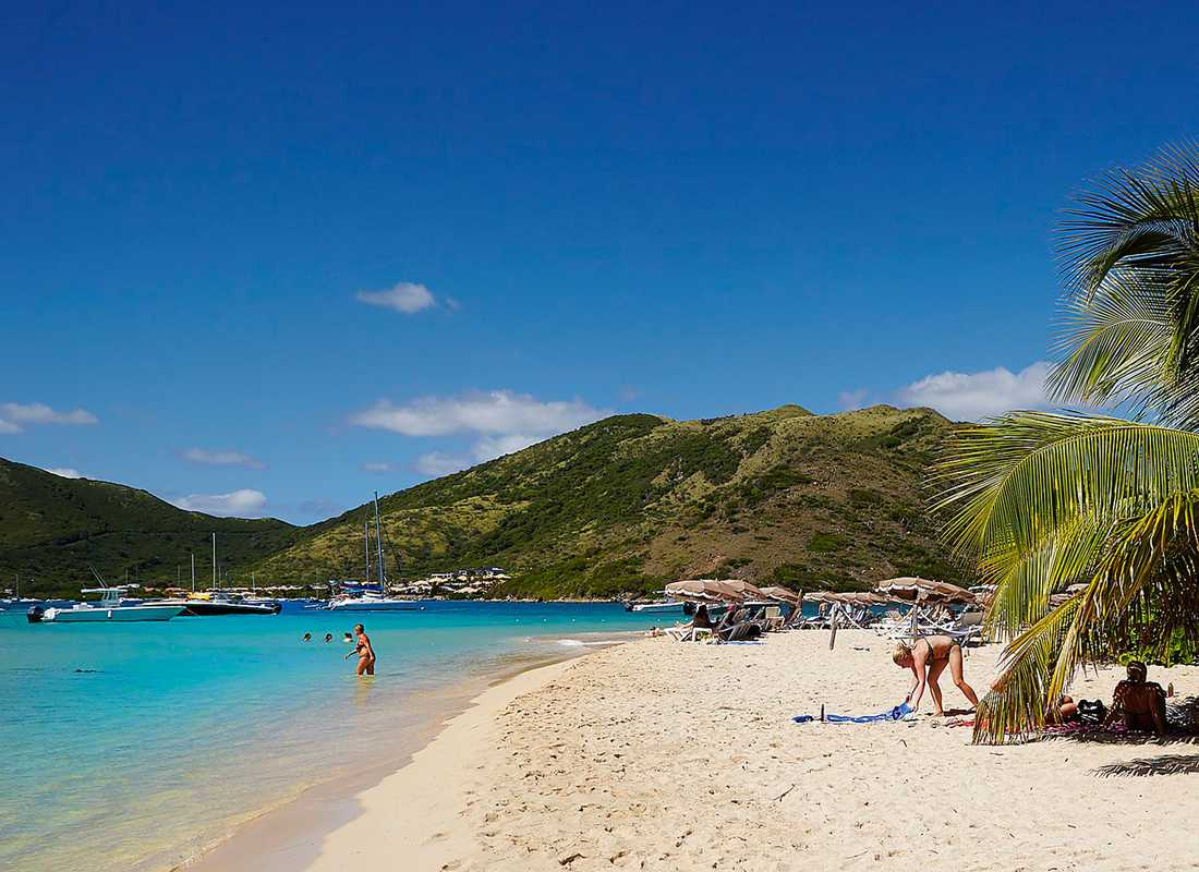 St Martin ger dig två länder på en ö.