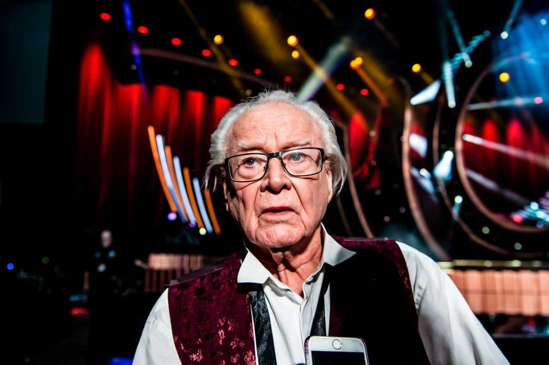Jan Malmsjö, 86, tävlar i Melodifestivalen
