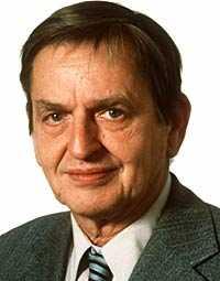 Dåvarande statsminister Olof Palme mördades den 28 februari 1986.