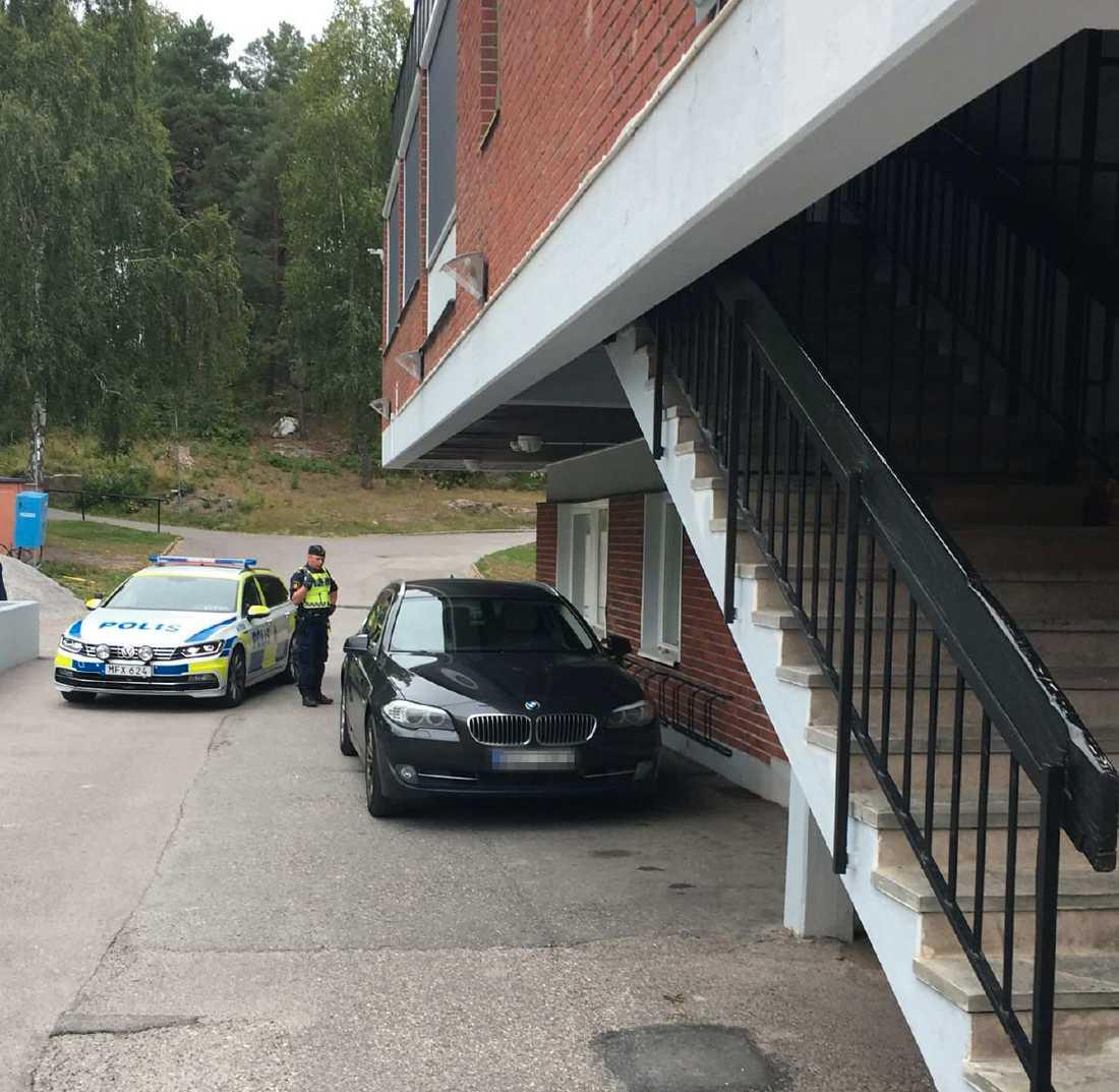 Ett vittne slog larm om en misstänkt bil och den kidnappade studenten kunde räddas.