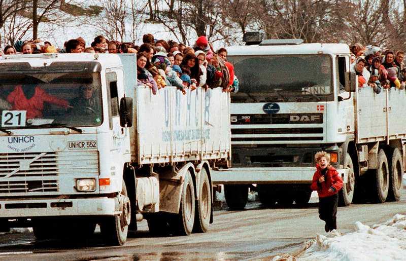 Mladic och Karadzic i dag.