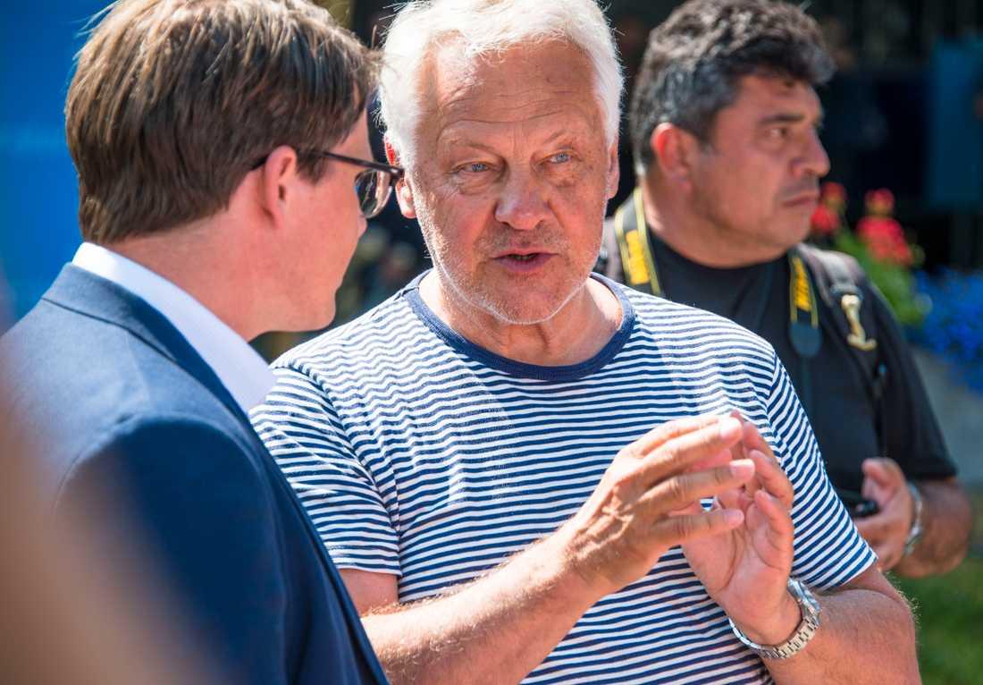 Erik Ullenhag och Bengt Westerberg