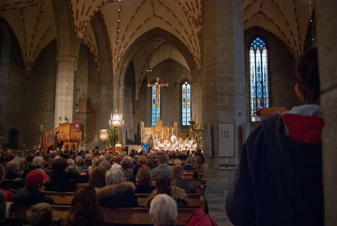 Jul i klosterkyrkan. Arkivbild.