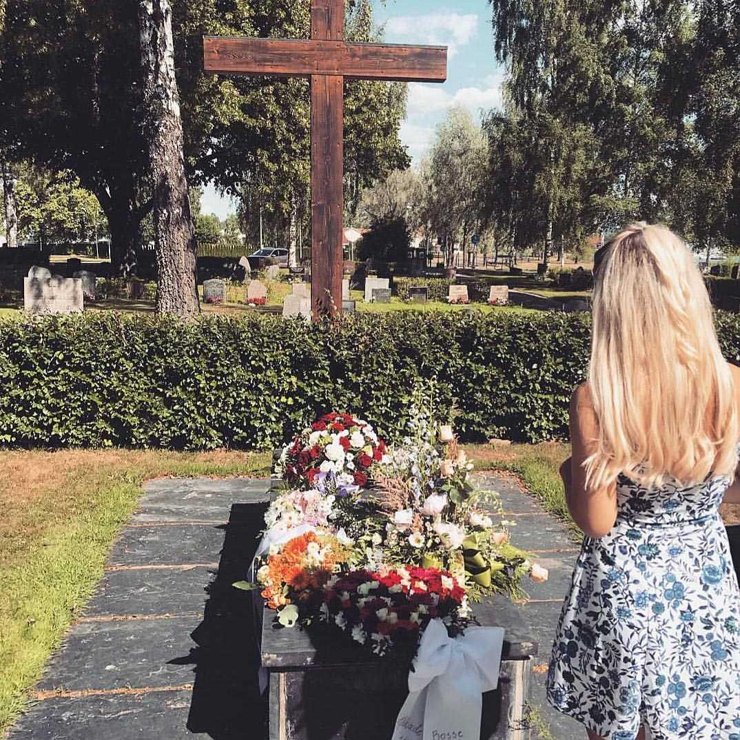 Bilder från begravningen
