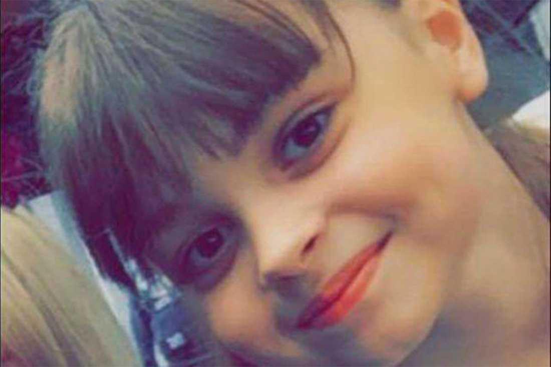 Saffie Rose Roussos, 8 år, är en av de döda.