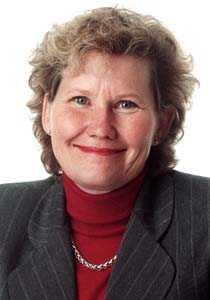 Expert Pia Nilsson, vd för fondbolagens förening.