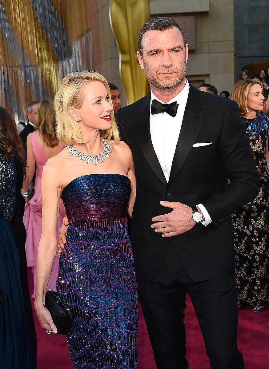 Naomi Watts och Liev Schreiber väntas komma till Venedig.