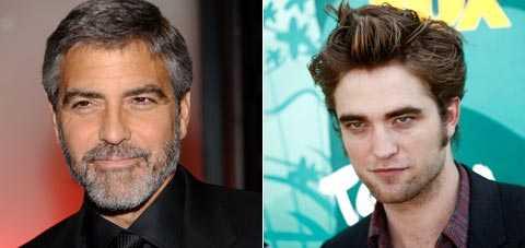 George Clooney och Robert Pattinson samlar in pengar till de drabbade av jordbävningen på Haiti.