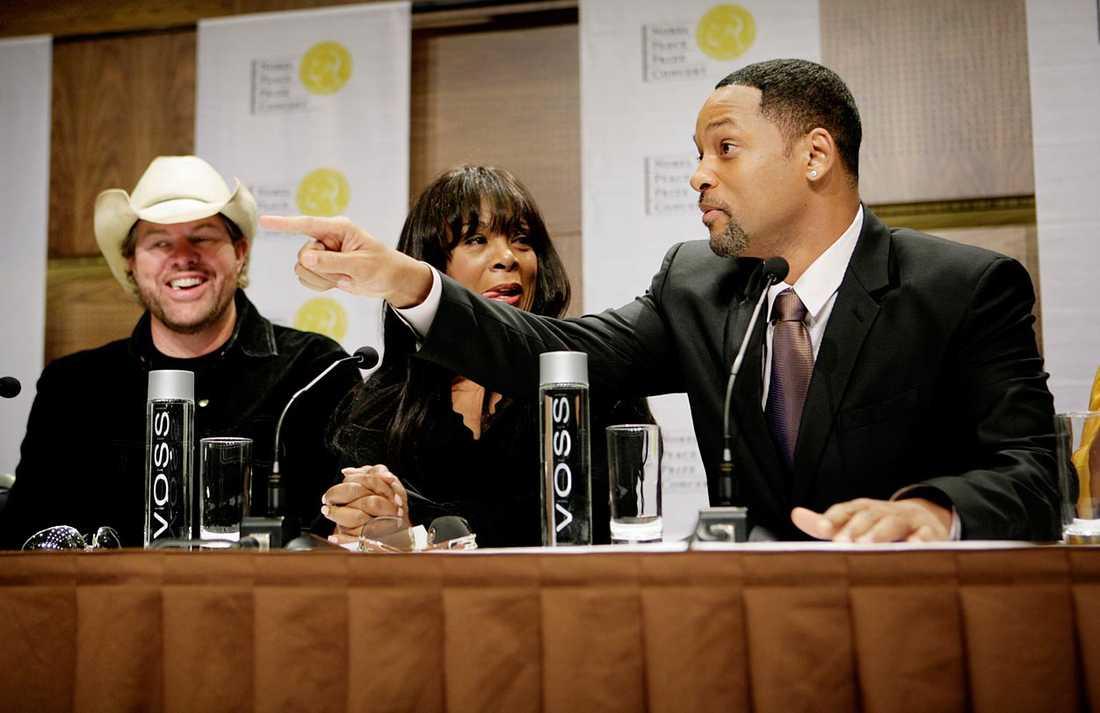 Toby Keith, Donna Summer och Will Smith.