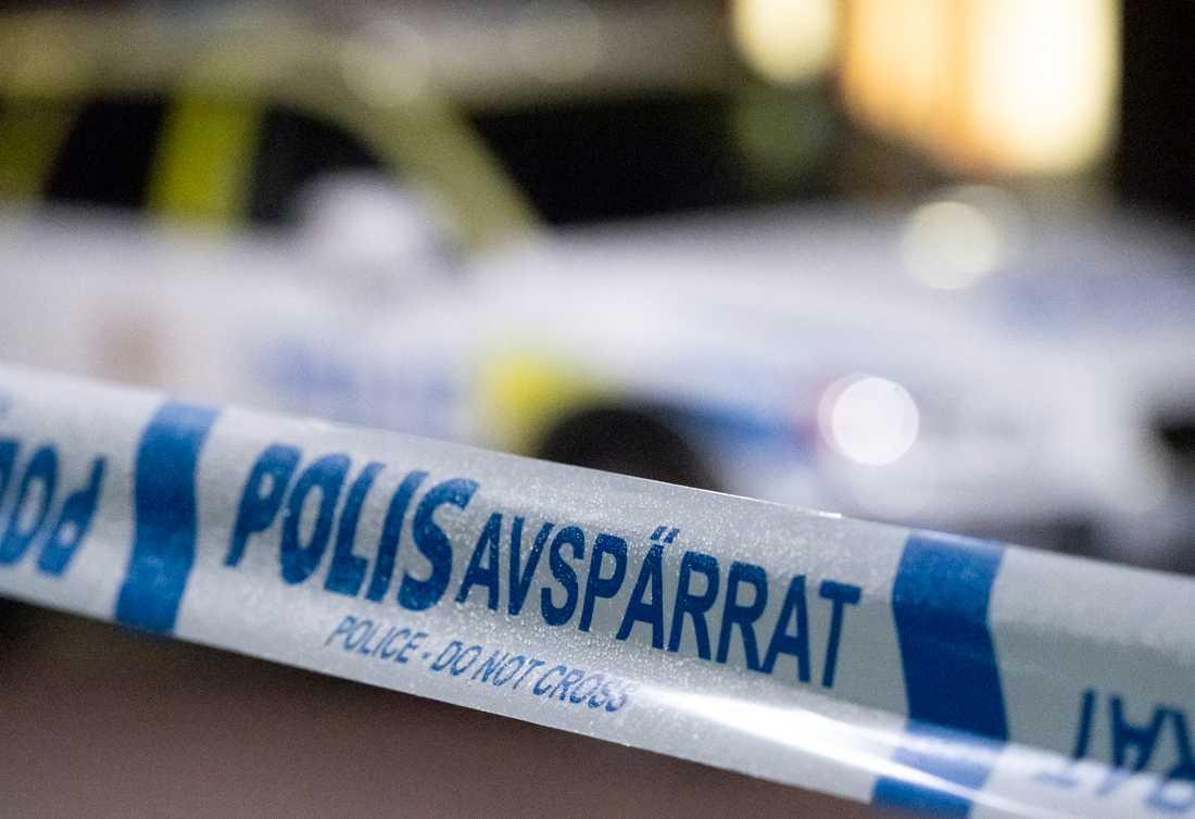 En kvinna knivskars inne på ICA Maxi i Olofström. Arkivbild.