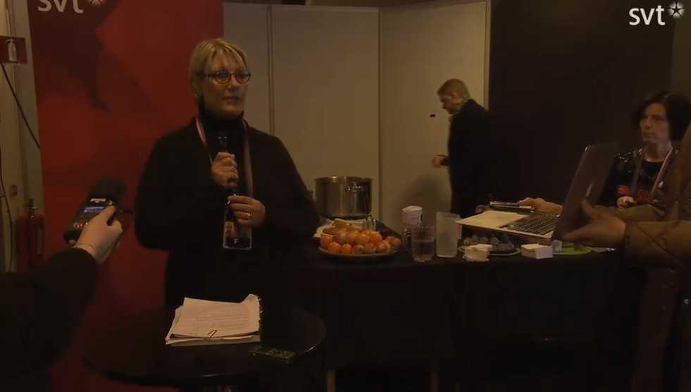 Direkt från SVT:s presskonferens.