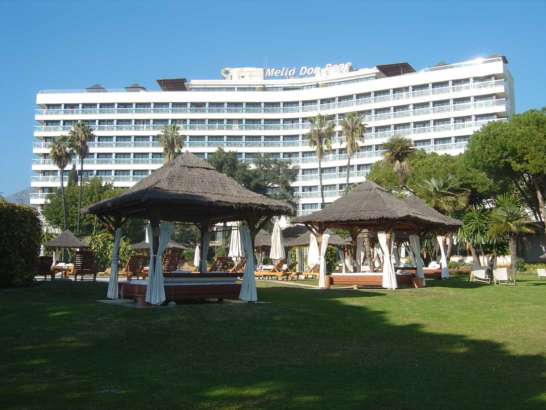 Melia Don Pepe Hotel i Marbella.