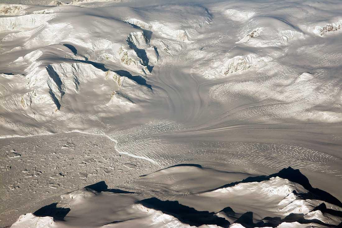 Lämningarna efter den första svenska Antarktis-expeditionen hotas av de snabba klimatförändringarna. Nu ska en svensk-argentinsk forskningsexpedition försöka rädda lämningarna. Arkivbild.