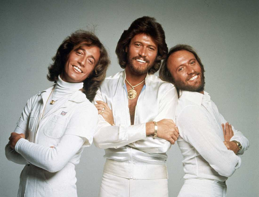 Robin Gibb, Barry Gibb och Maurice Gibb var The Bee Gees