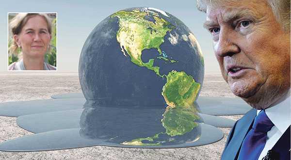 Klimatförnekarna är ganska talrika och de resonerar ungefär som Donald Trump. Det kan vara ganska obehagligt att diskutera klimatet med dem – men det finns argument som fungerar bättre än andra, skriver Eva-Lotta Funkquist. Bilden är ett montage.