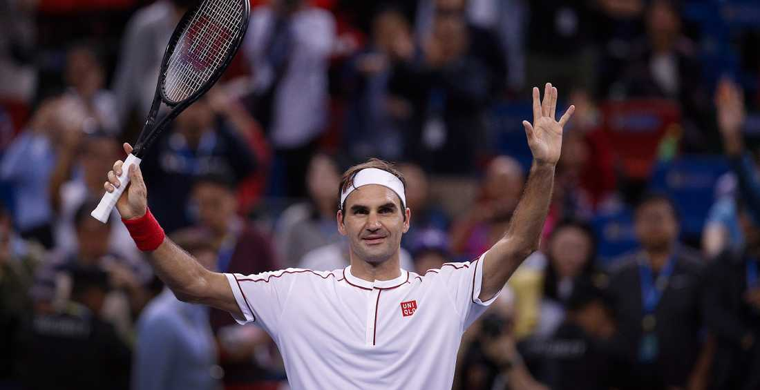 Roger Federer har bestämt sig för att ställa upp i OS nästa sommar. Arkivbild.
