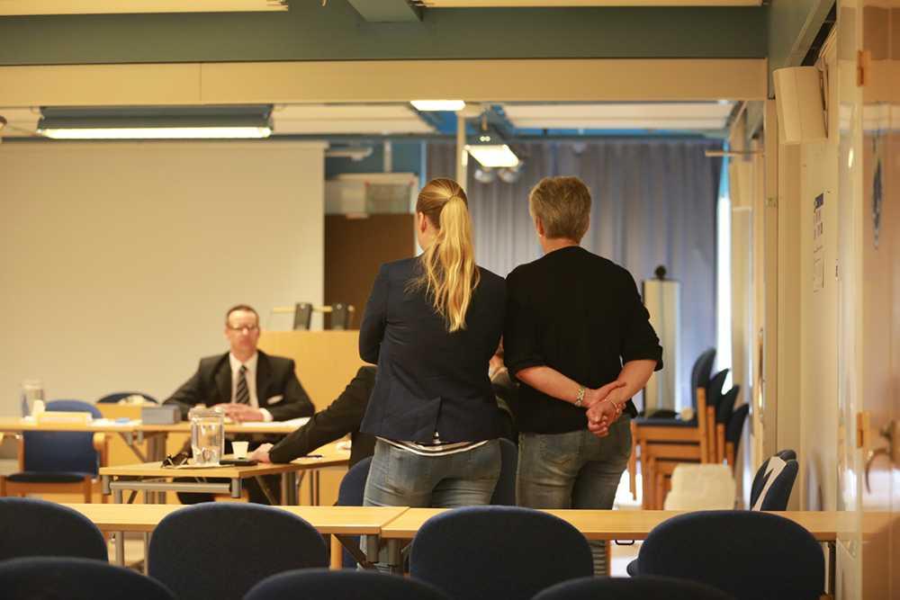 Häktningsförhandlingen mot kvinnan inleddes i dag i Kristianstads tingsrätt.