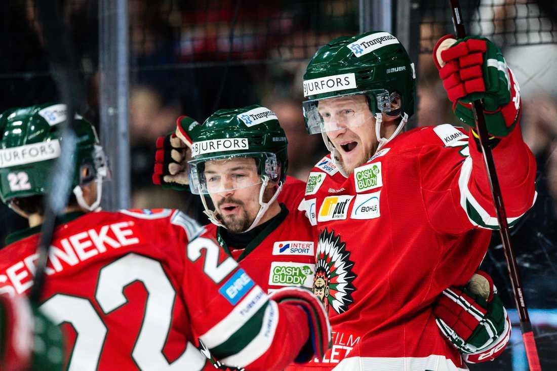 David Printz satte 4–0-målet mot Skellefteå