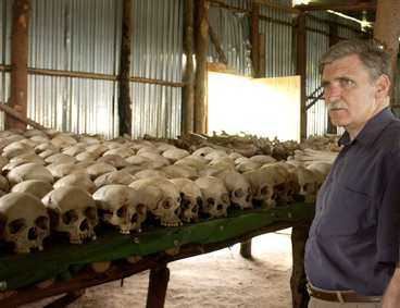 """Shake Hands With the Devil: The Journey of Roméo Dallaire""."