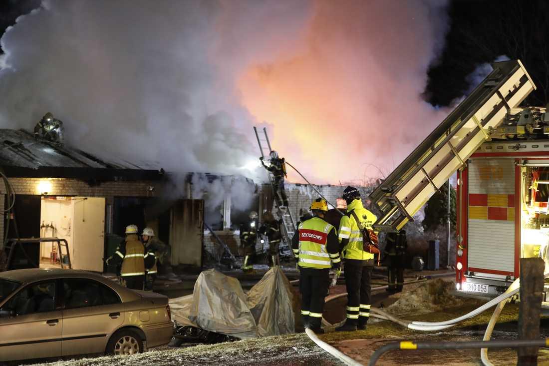 brand i upplands väsby