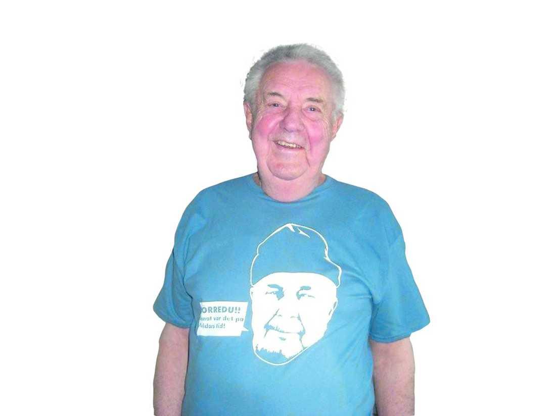 Bert-Åke Varg och t-shirten.