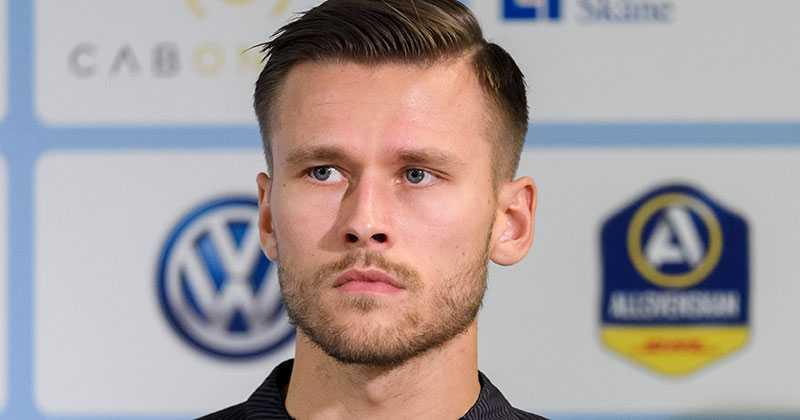 Malmö FF:s Arnor Traustason.
