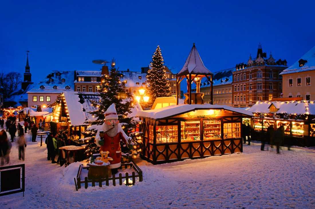 Tyskland anses vara den juligaste platsen av en fjärdedel av svenskarna, enligt undersökningen.