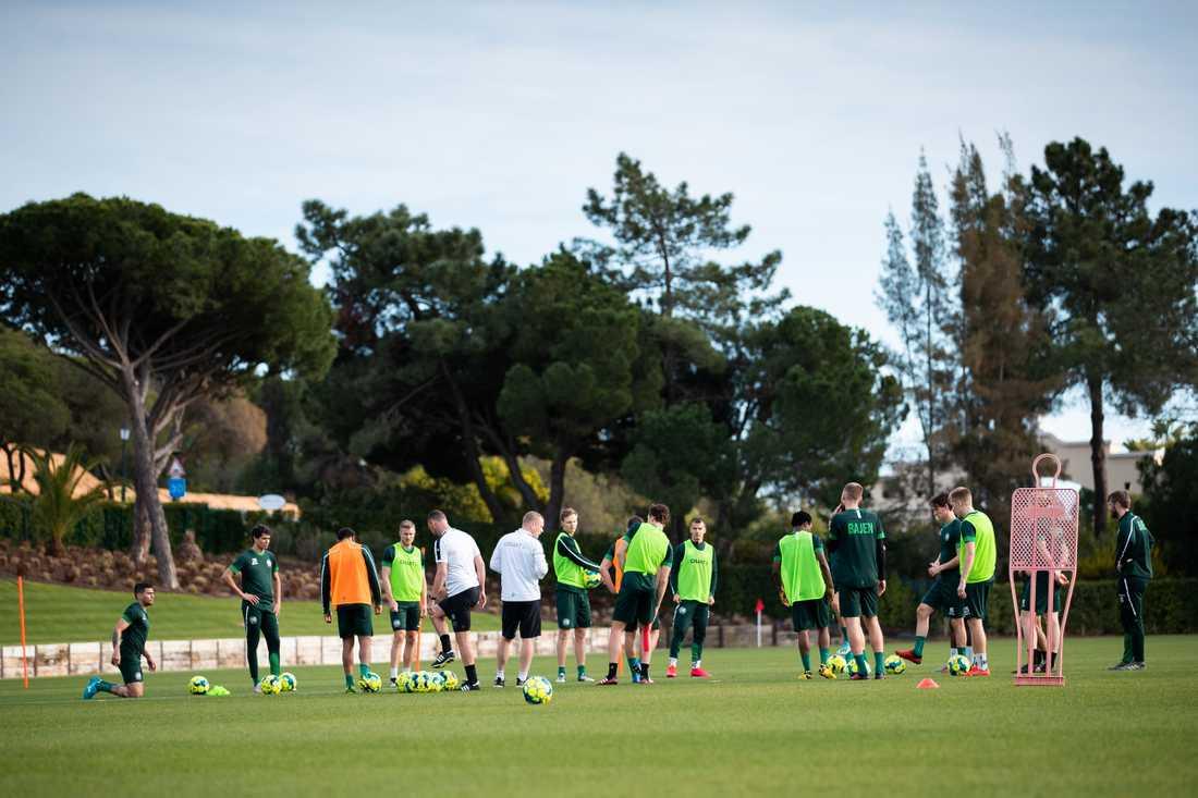 Hammarby i Vale do Lobo, Algarvekusten, inför säsongen 2020.
