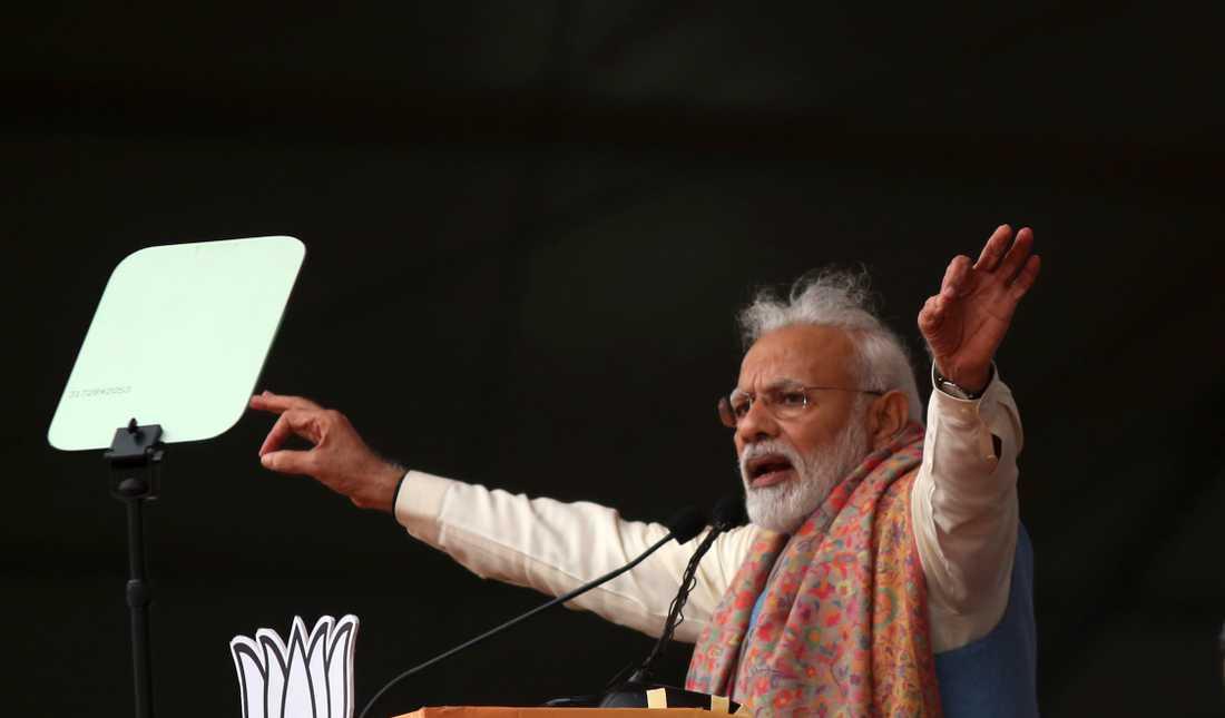 Indiens premiärminister Narendra Modi. Arkivbild.