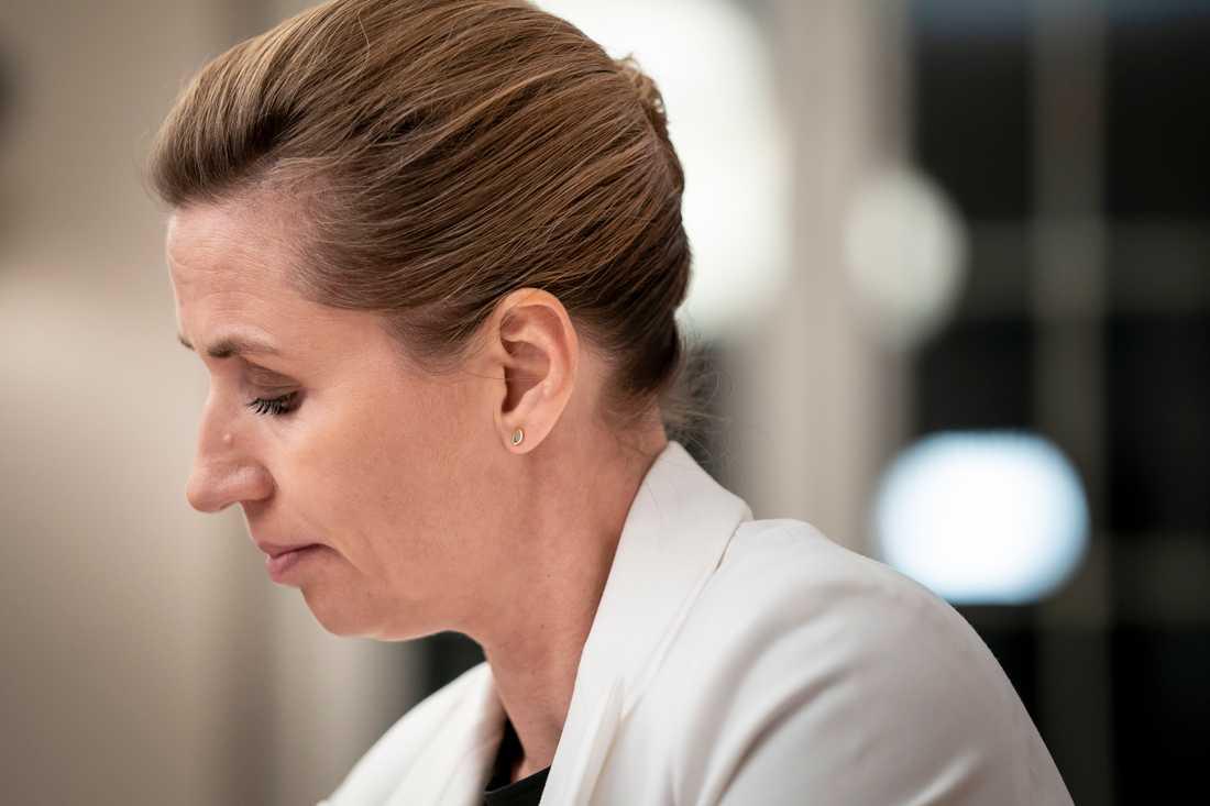 Mette Frederiksen, Danmarks statsminister.