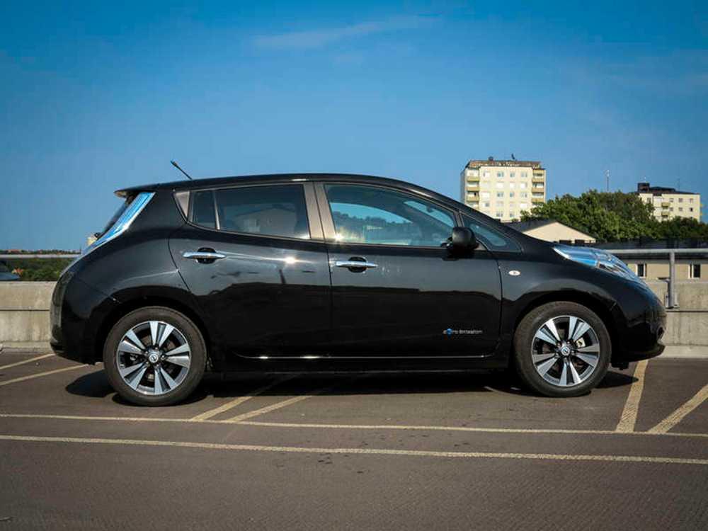 Nissan Leaf, elbil.