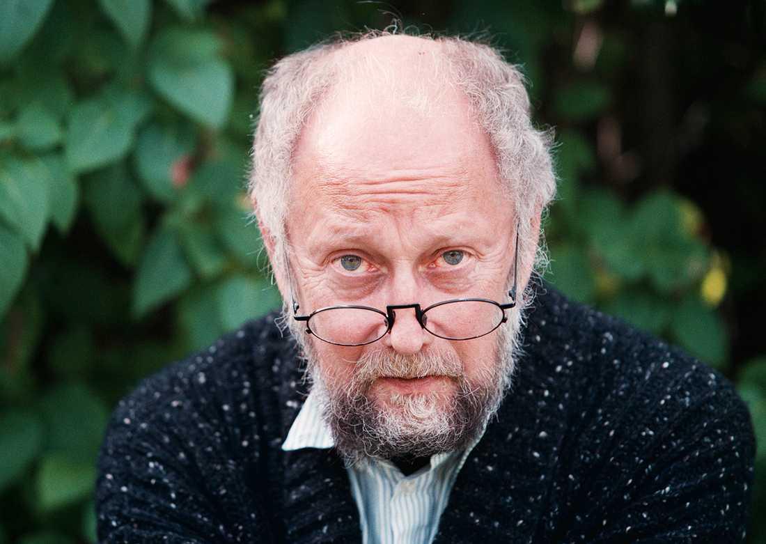 Lindgren satt på stol 9 i Svenska akademien.