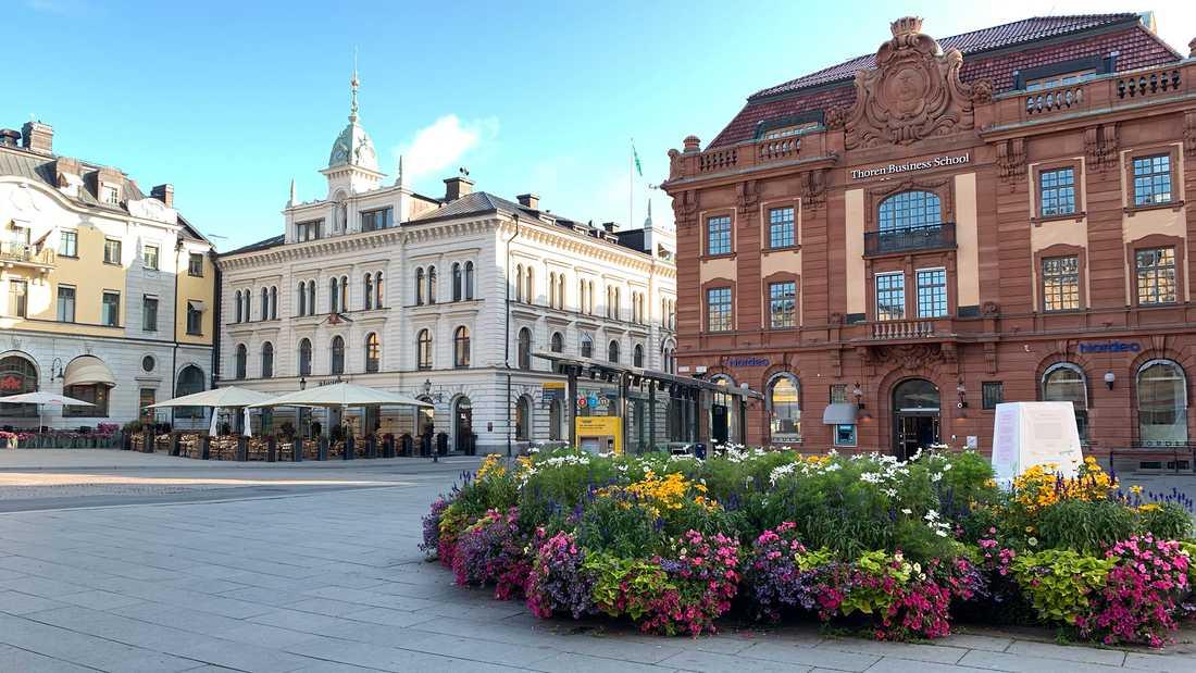 Uppsala kommun vill ha övervakningskameror vid Stora torget.