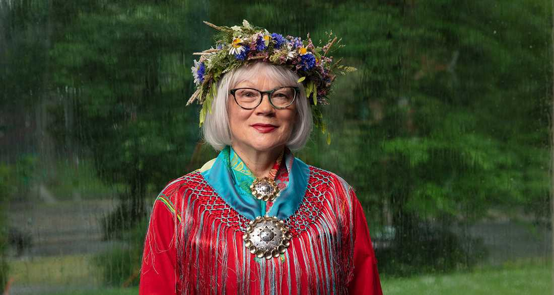 "Britta Marakatt-Labba sommarpratar i ""Sommar i P1""."