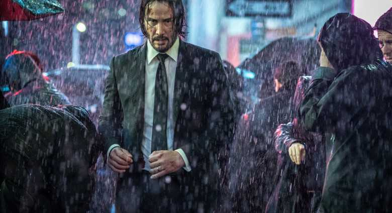 "Keanu Reeves i ""John Wick chapter 3: Parabellum""."