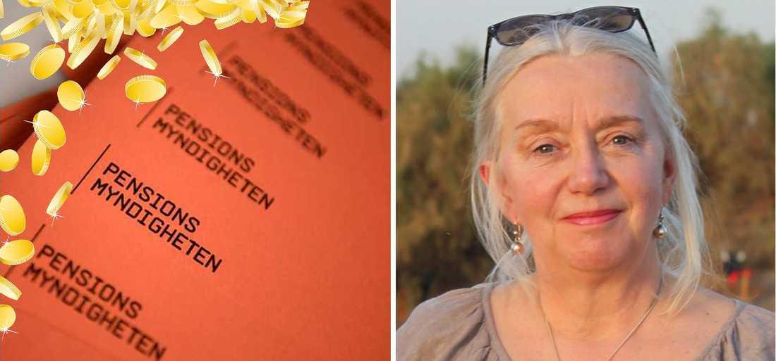 Irene Cederholm, 68, skulle gå i pension – istället har hon börjat  på ett nytt jobb.
