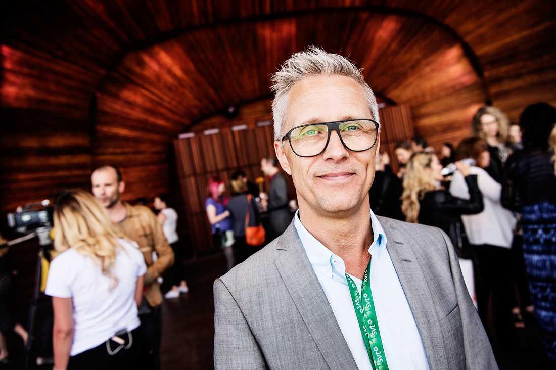 """Per Rådelius, projektledare för """"Allsång på Skansen""""."""