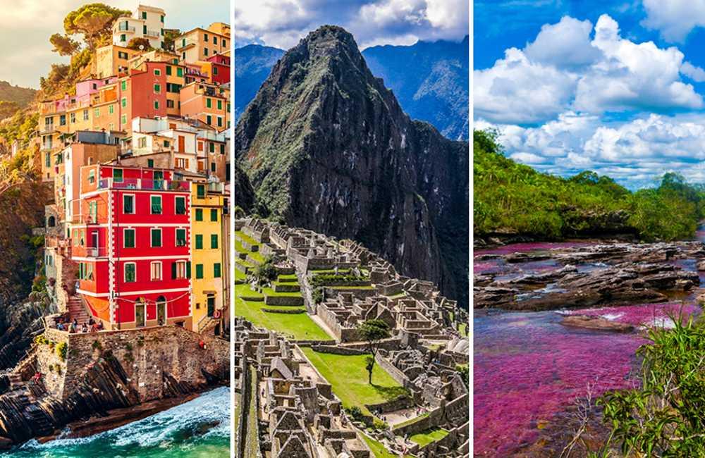 Cinque Terre, Machu Picchu och Caño Cristales är exempel på platser som försöker minska mängden turister.