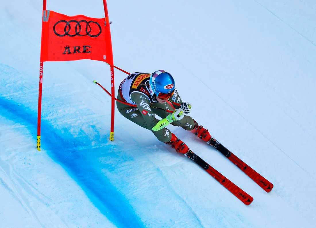 Mikaela Shiffrin kan ta sitt andra VM-guld i Åre.