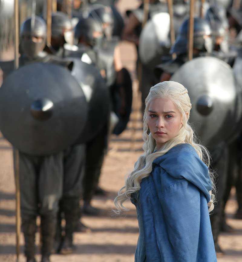 I kväll är det svensk premiär för nya säsongen av Game of thrones. Snarare än shablonbilder och gummisvärd ger tv-serien oss en problematiserad bild av krig, maktmissbruk och flykt, menar debattören.
