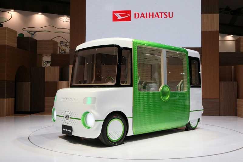En lowrider med rejält utrymme? Daihatsus Nori Ori är minst sagt låg, men tack vare detta samt en utfällbar ramp är det den ultimata bilen för de med rullstol...