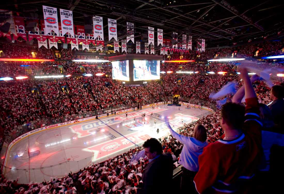 Bell Center, Montreal Canadiens hemmaplan.