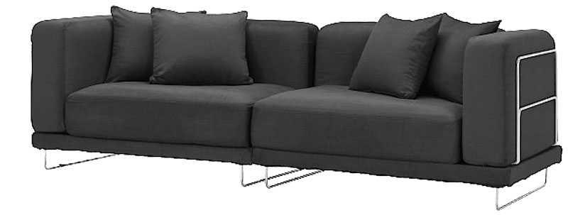 """Många sittplatser för lite pengar. Ikea """"Tylösand"""" 3-sits, 5995 kr."""