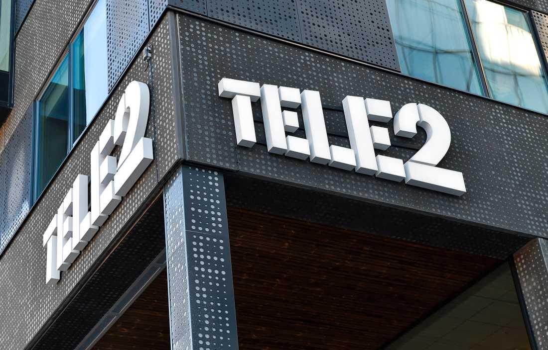 Mobiloperatören Tele2 har problem med telefonin. Arkivbild.
