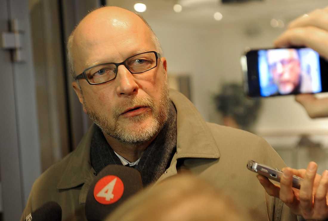 JA Sven-Erik Österberg, riksdagsledamot.
