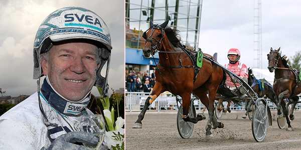Örjan Kihlström och Burning Man spikas på V75.
