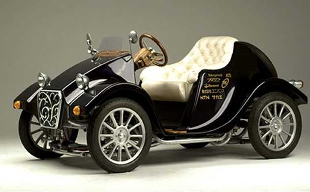 Takayanagi Miluira Retro EV är en elbil inspirerad av 1920-talets bilar.
