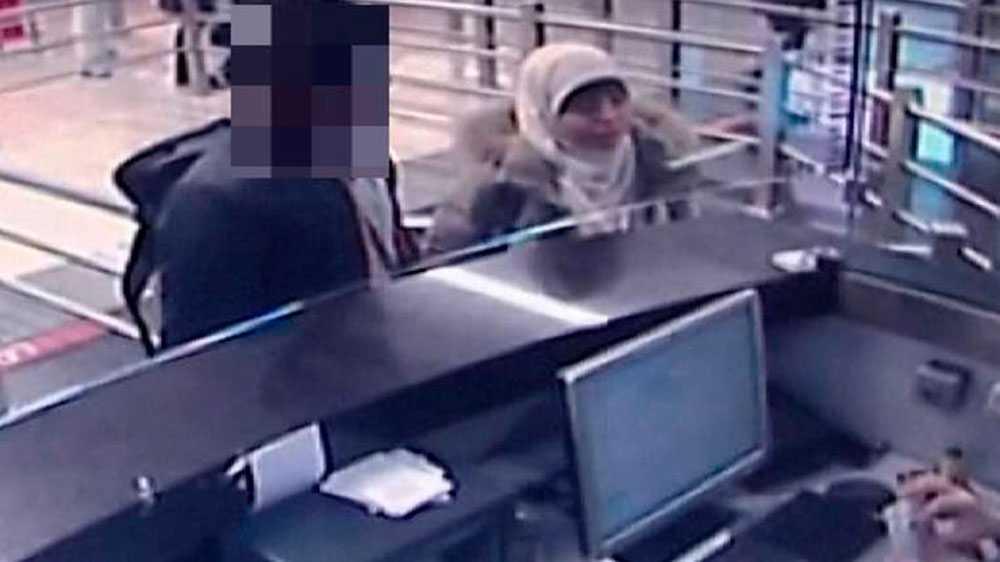 En övervakningsfilm ska visa Hayat Boumedienne. Hon uppges ha flytt till Syrien och sedan rest vidare till Syrien.